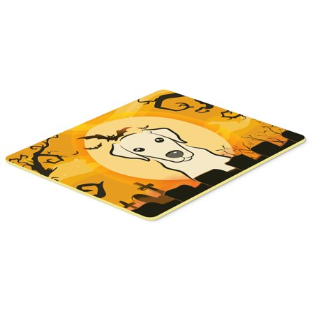 Halloween Yellow Labrador Kitchen or Bath Mat 24x36 BB1780JCMT - Labrador Halloween Pics