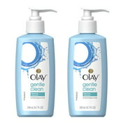 (2 Pack) Olay Gentle Clean Foaming Face Cleanser for Sensitive Skin, 6.7 fl oz