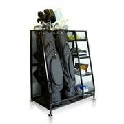 Best Garage Organizers - Milliard Golf Organizer - Fit 2 Golf Bags Review