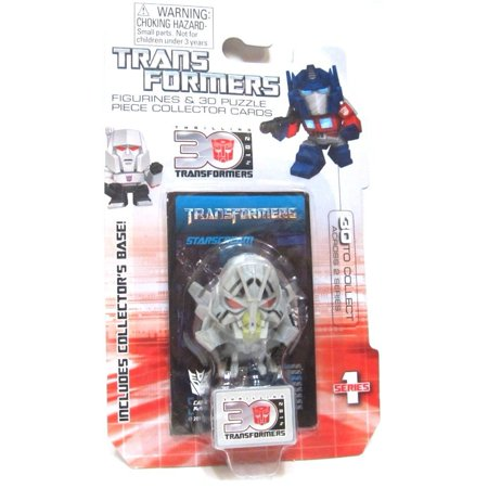 Starscream Transformers Movie 30Th Anniversary 1 5 Inch Series 1 Mini Figure  1 Collectible Mini Figurine  Starscream By Hasbro