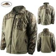 Natural Gear Hybrid Fleece Full Zip Jacket (3X)- Nat. Camo
