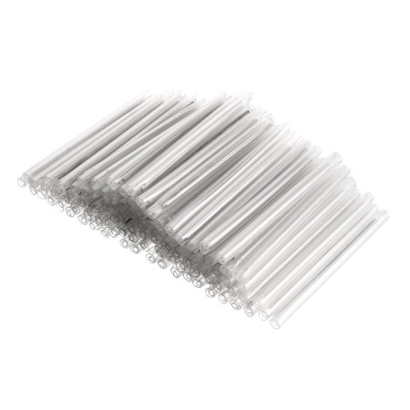 58mm 3.6mmOD Fiber Optic Fusion Splice Tube Protectors Sleeves, Clear Heat Shrinkable Tubing- 200pcs