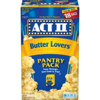 Act II Butter Lovers Microwave Popcorn, 18 Ct (2.75 Oz. Bags)