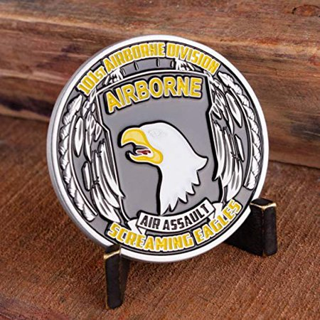 Army 101st Airborne Challenge Coin