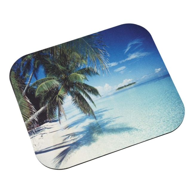 3M MP114YL Tropical Beach Mouse Pad by 3M - WORKSPACE SOLUTIONS