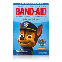 (2 pack) Band-Aid Bandages, Nickelodeon Paw Patrol, Assorted Sizes 20 ct