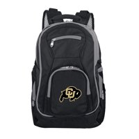 NCAA Colorado Buffaloes Premium Laptop Backpack with Colored Trim