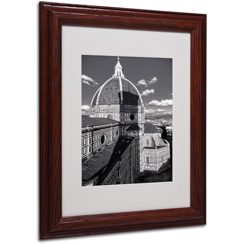 "Trademark Fine Art ""Brunelleschi's Work"" by Giuseppe Torre, Wood Frame"