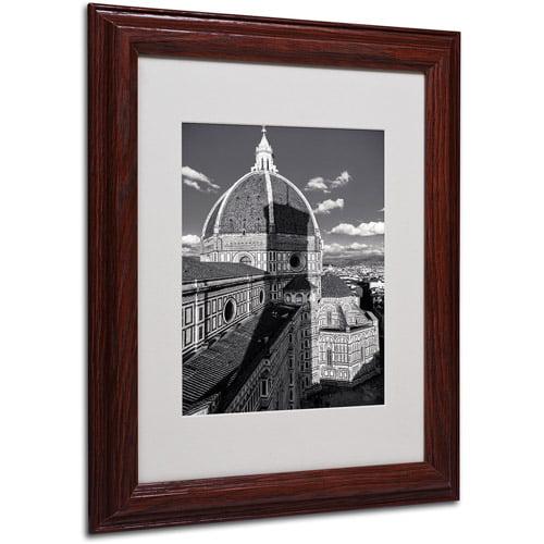 "Trademark Fine Art ""Brunelleschi's Work"" by Giuseppe Torre, Wood Frame"