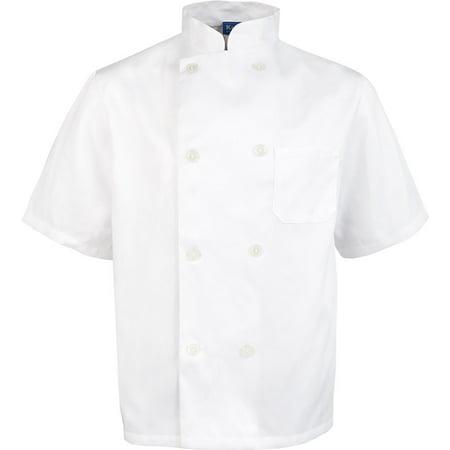 Men's Value Short Sleeve Chef Coat