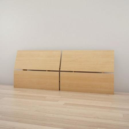 Nexera 345305 Full Size Panoramic Headboard Natural Maple