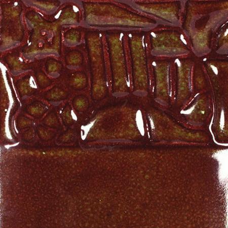Mayco Elements Glaze, Rust Red EL-132, 1 Pint (Forte Rust Glaze)