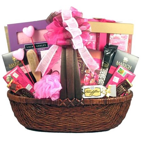 Gift Basket Drop Shipping Prinpi Vday Pretty In Pink  44  Valentines Day Gift Basket