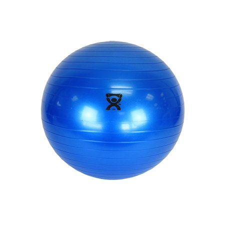 CanDo® Inflatable Exercise Ball - Blue - 12