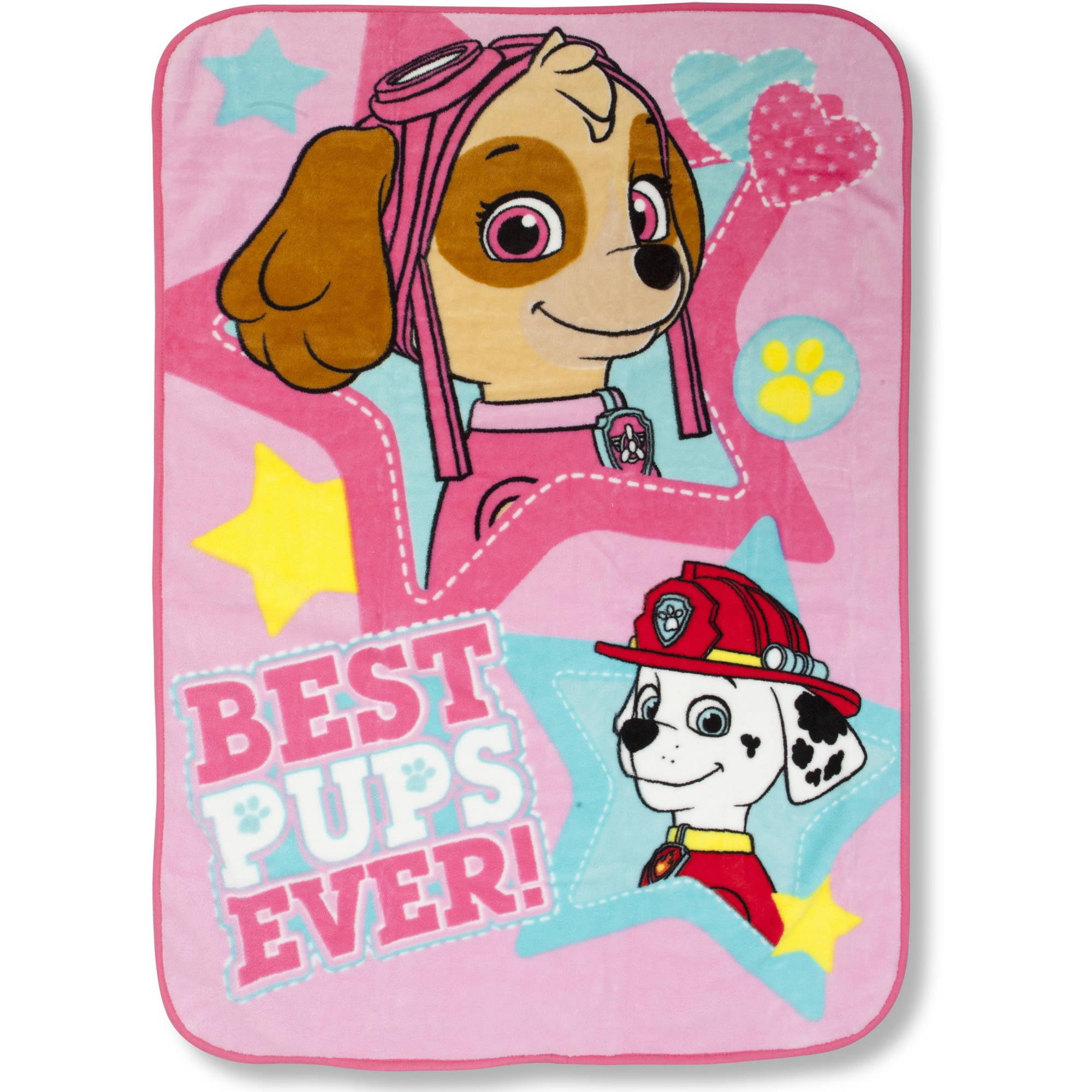 Paw Patrol Skye Blanket, Pink by Paw Patrol