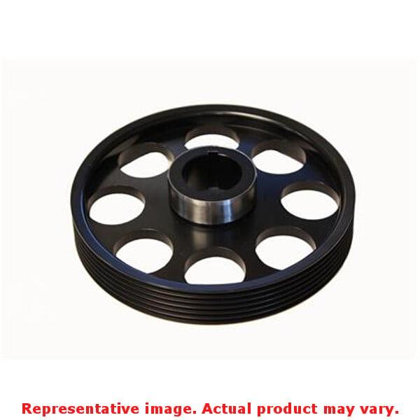 Torque Solution Lightweight Pulley TS-GEN-005B Black Fits...