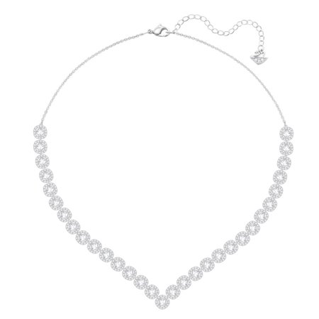Angelic Square Crystal Necklace