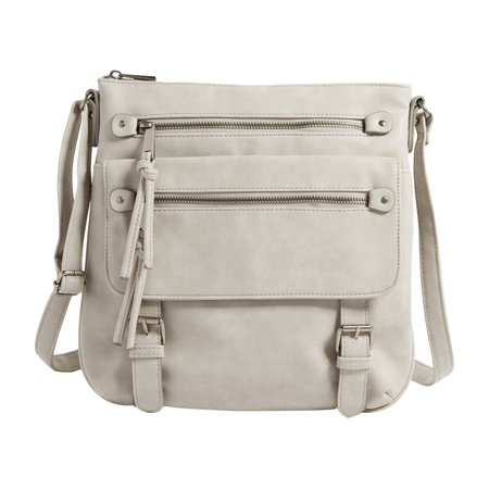2011f96633 maurices - Double Pocket Crossbody Bag - Walmart.com