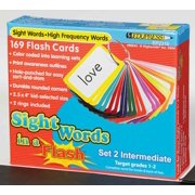 Sight Words in a Flash Color-Coded Flash Cards