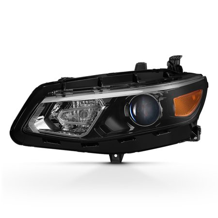 - Fits 2016-2018 Chevy Malibu Left Driver Side Projector Headlight Replacement