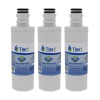 Tier1 Replacement for LG LT1000P Refrigerator Water Filter, 3-Pack