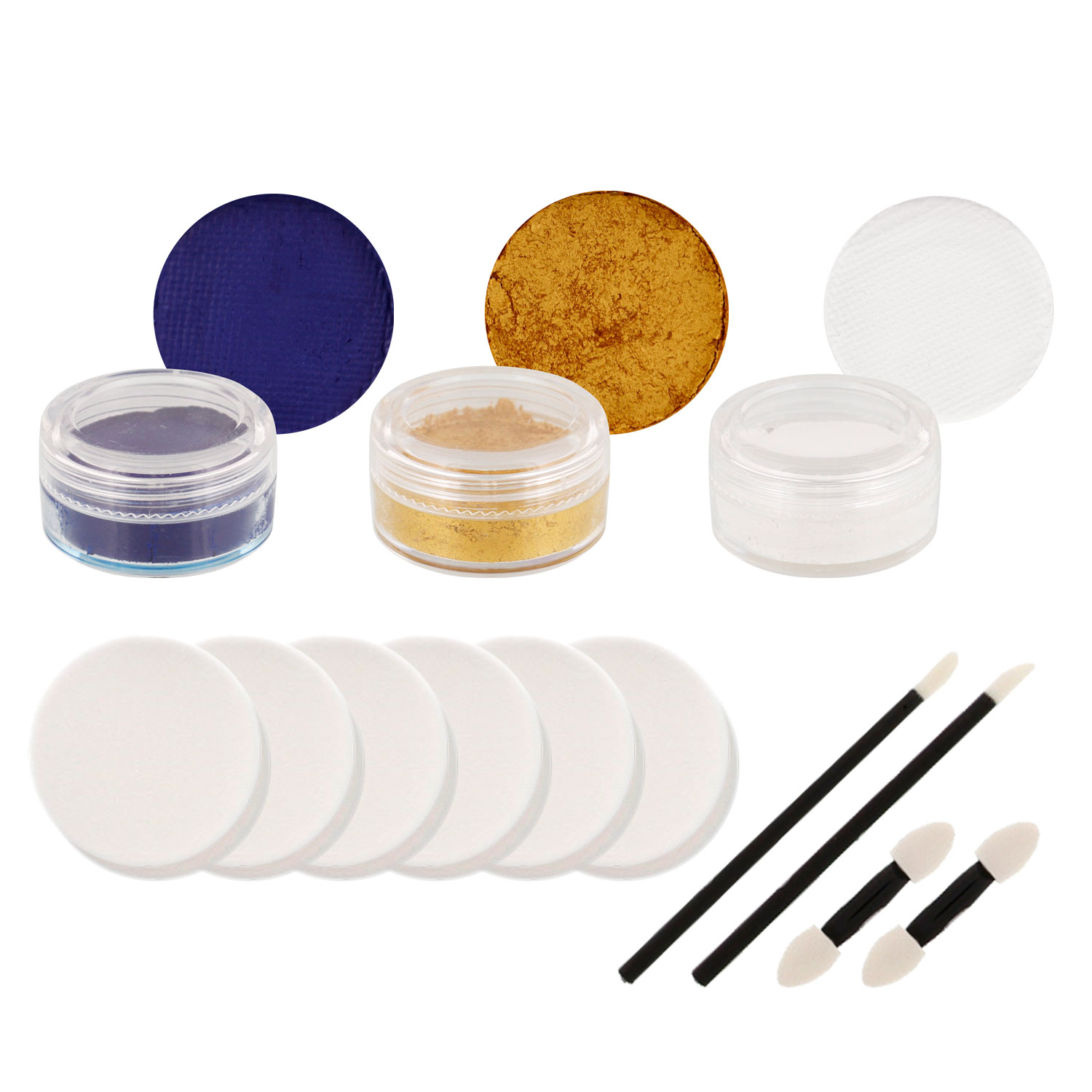 PANTHERS Football Basketball FACE PAINTING SET Paint