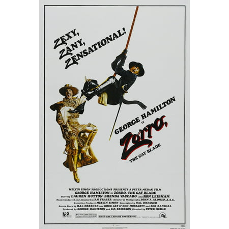 Zorro, The Gay Blade (1981) 11x17 Movie Poster - G-a-y Halloween London