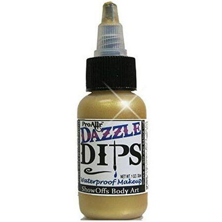 ProAiir Dips Waterproof Makeup - Gold Dazzle (1