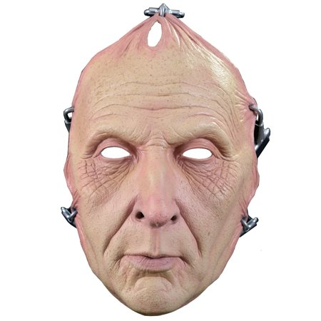 Multicolor Saw Jigsaw Latex Mask Adult Halloween Accessory for $<!---->