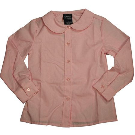 05c0d0ef943d6c French Toast Uniform Toddler Girls Long Sleeve Feminine Fit Peter Pan Blouse