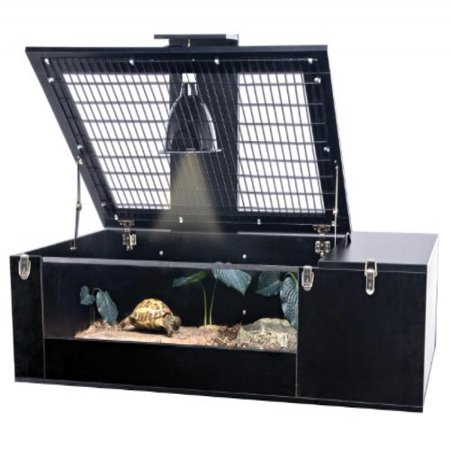 Penn Plax The Reptology Tortoise Palace Habitat with Wire Top