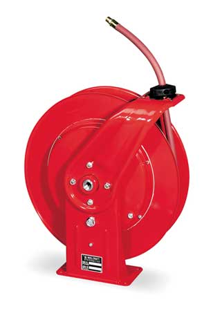 REELCRAFT 7670 OLP1 Hose Reel, Industrial, 3 8 In., 70 ft. L by Reelcraft