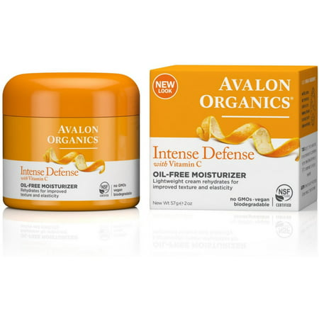 2 Pack - Avalon Organics Intense Defense with Vitamin C Oil-Free Moisturizer 2