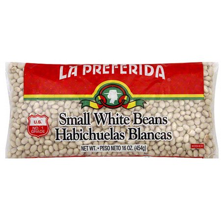 Small Beans Halloween (La Preferida Small White Beans, 16 oz (Pack of)