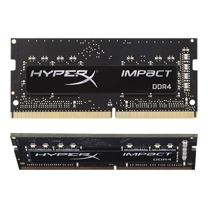 Kingston Technology HyperX Impact� 32GB 3200MHz DDR4 CL20 SODIMM (Kit of 2) HX432S20IBK2 32 by Kingston