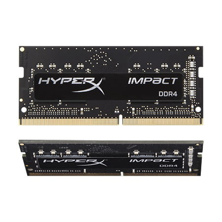 Kingston Technology HyperX Impact  32GB 2933MHz DDR4 CL17 SODIMM (Kit of 2) HX429S17IBK2/32 Kingston Hyperx Pc Memory