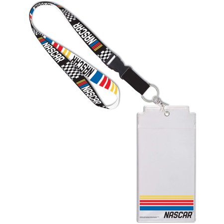 NASCAR WinCraft Driver Name & Number Credential Holder - No Size - Nascar Driver Halloween