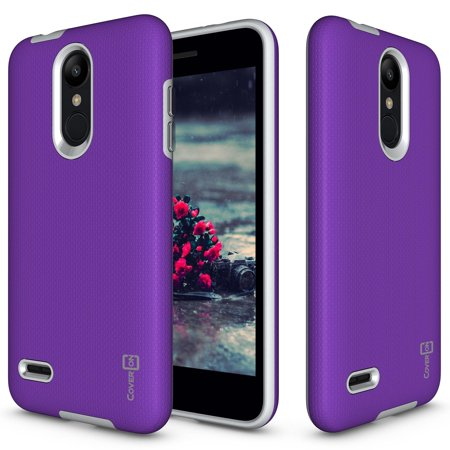 finest selection 734c9 b35d3 CoverON LG K8 2018 / K8 Plus 2018 / Aristo 2 Plus / Fortune 2 / Risio 3  Case, Rugged Series Protective Hybrid Phone Cover