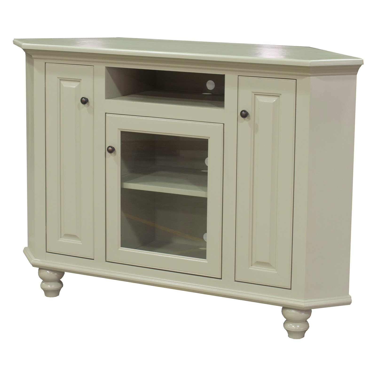 Eagle Furniture 58 in. Orleans Corner Entertainment Console