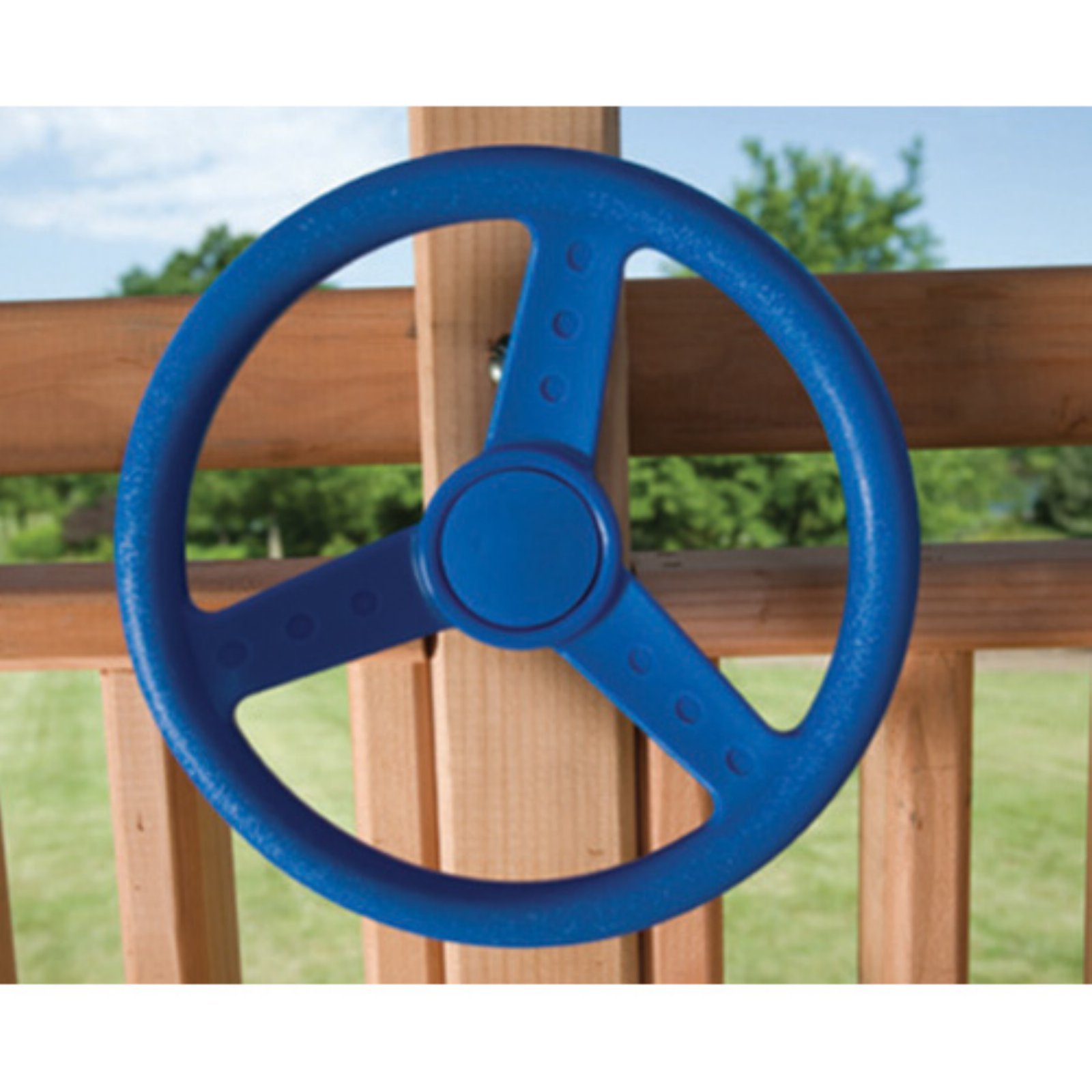Kids Creations Blue Steering Wheel