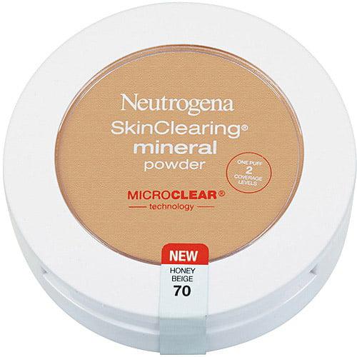Neutrogena Skinclearing Mineral Powder, Honey Beige 70, 0.38 oz