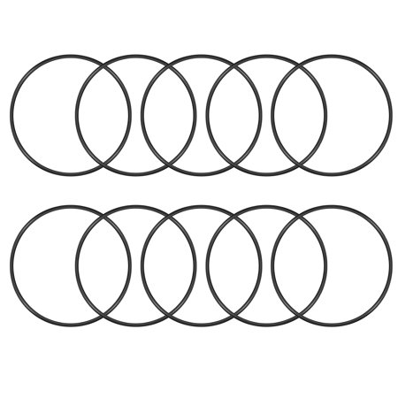 O-Rings Nitrile Rubber 113mm x 120mm x 3.5mm Seal Rings Sealing Gasket 10pcs (113 Mm Spindle)