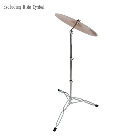Ktaxon Straight Cymbal Stand Heavy Duty Chrome Double Braced Percussion Tripod ()