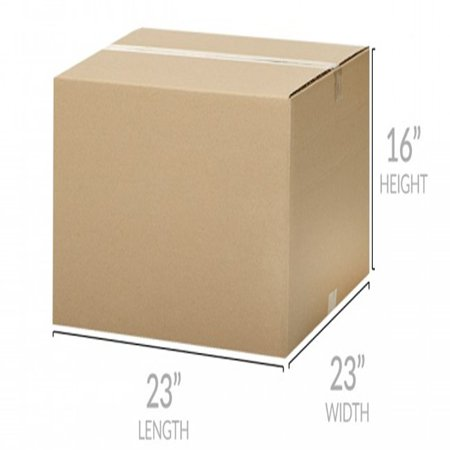 Uboxes X-Large Moving Boxes, 23x23x16 in, 10 Pack, Cardboard Box