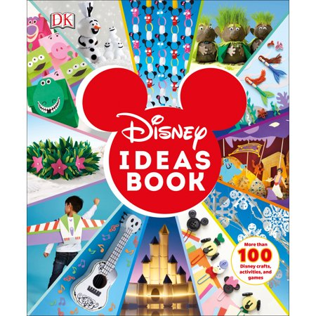 Disney Ideas Book: More Than 100 Disney Crafts, Activities, and Games (Hardcover) (Halloween Crafts Ideas To Sell)
