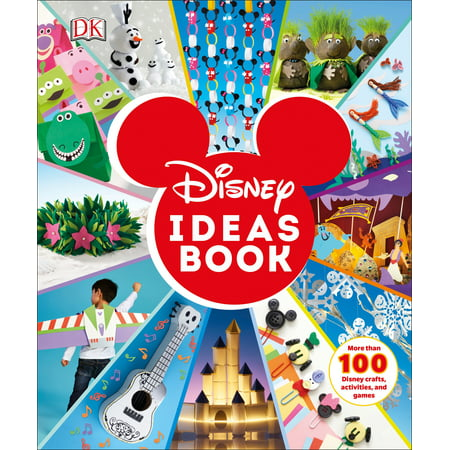 Disney Ideas Book: More Than 100 Disney Crafts, Activities, and Games (Hardcover) - Craft Idea