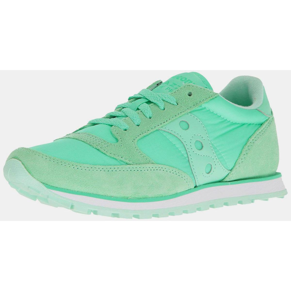 Saucony Jazz Lowpro Womens Mint Sneakers by Saucony