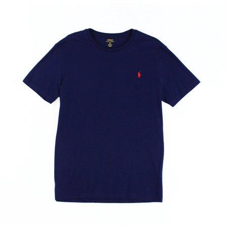 Polo Ralph Lauren NEW Blue Navy Mens Size Small S Crewneck Tee T-Shirt