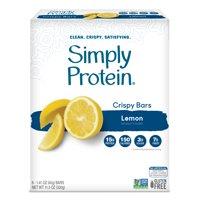 Simply Protein Crispy Bar, Lemon, 15g Protein, 8 Ct