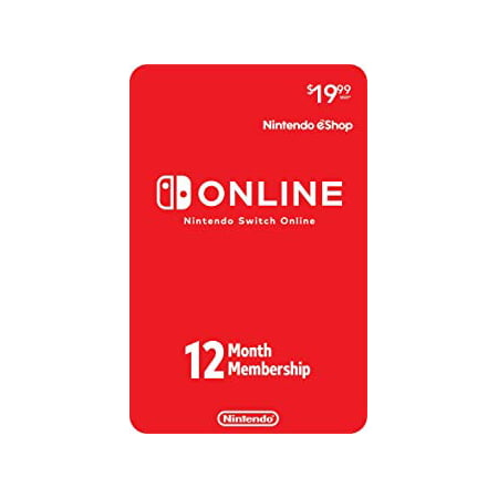 Nintendo Switch Online 12-Month Individual Membership, 045496592370 (Shop Online In Usa)